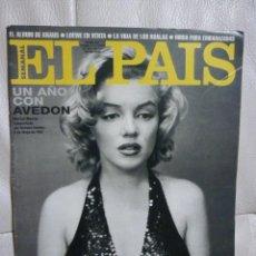Coleccionismo de Periódico El País: EL PAIS SEMANAL - MARILYN MONROE -Nº 257 - 1996. Lote 80394969