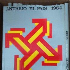 Coleccionismo de Periódico El País: ANUARIO EL PAÍS AÑO 1984 DIARIO EL PAIS RESUMEN DE LAS NOTICIAS DEL AÑO Y PUBLICIDAD DE ÉPOCA. Lote 81646864