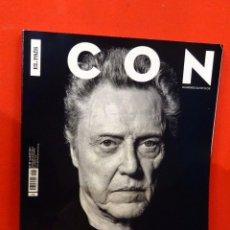 Coleccionismo de Periódico El País: REVISTA ICON Nº37 (MARZO 2017) - CHRISTOPHER WALKEN. Lote 81676896