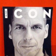 Coleccionismo de Periódico El País: REVISTA ICON Nº23 (ENERO 2016) - YANIS VAROUFAKIS. Lote 81677312