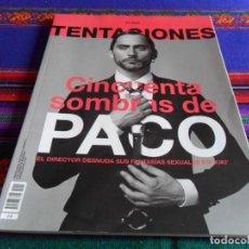 Coleccionismo de Periódico El País: EL PAÍS TENTACIONES ABRIL 2016. PACO LEÓN DIRIGE KIKI. MUY BUEN ESTADO.. Lote 84334252