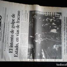 Coleccionismo de Periódico El País: EL PAIS 24 FEBRERO 1981, EDICION DE MAÑANA Y EDICION ESPECIAL.. Lote 84758364