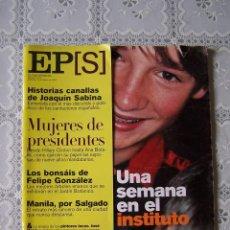 Coleccionismo de Periódico El País: EL PAÍS SEMANAL. Nº 1216. 16 DE ENERO DE 2000.. Lote 84760424