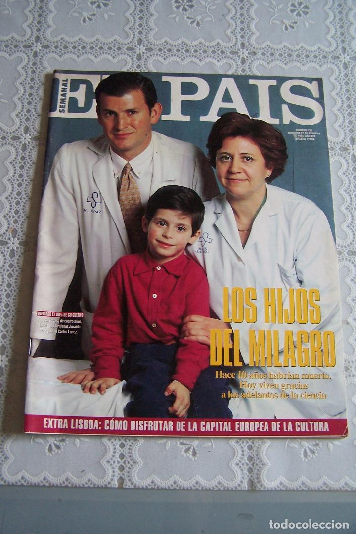 EL PAÍS SEMANAL Nº 158. 27 DE FEBRERO DE 1994. (Coleccionismo - Revistas y Periódicos Modernos (a partir de 1.940) - Periódico El Páis)