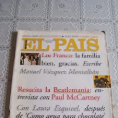 Coleccionismo de Periódico El País: EL PAÍS SEMANAL Nº 247. 12 DE NOVIEMBRE DE 1995.. Lote 85070200
