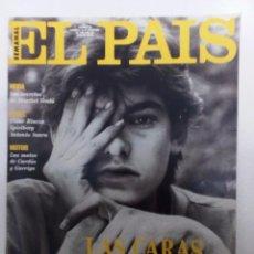 Coleccionismo de Periódico El País: EL PAÍS SEMANAL Nº 38 (1991) MARIBEL VERDÚ-CÉSAR RINCÓN-SPIELBERG-ANTONIO SAURA-CARDÚS & GARRIGA. Lote 86019364