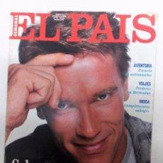 Coleccionismo de Periódico El País: EL PAÍS SEMANAL Nº 10 (1991) SCHWARZENEGGER-NICOLÁS REDONDO-ANTONIO GUTIÉRREZ-MEG RYAN-ORSON WELLES. Lote 86021964