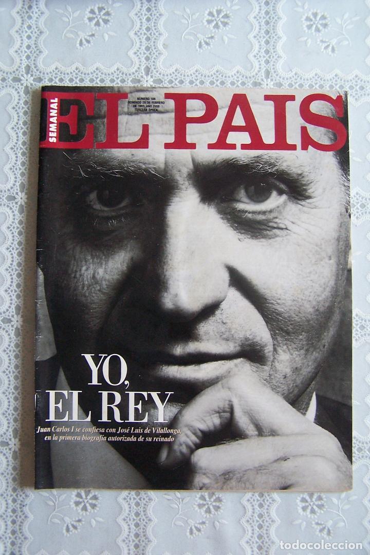 REVISTA EL PAÍS SEMANAL. Nº 106 - DOMINGO 28 FEBRERO 1993. (Coleccionismo - Revistas y Periódicos Modernos (a partir de 1.940) - Periódico El Páis)