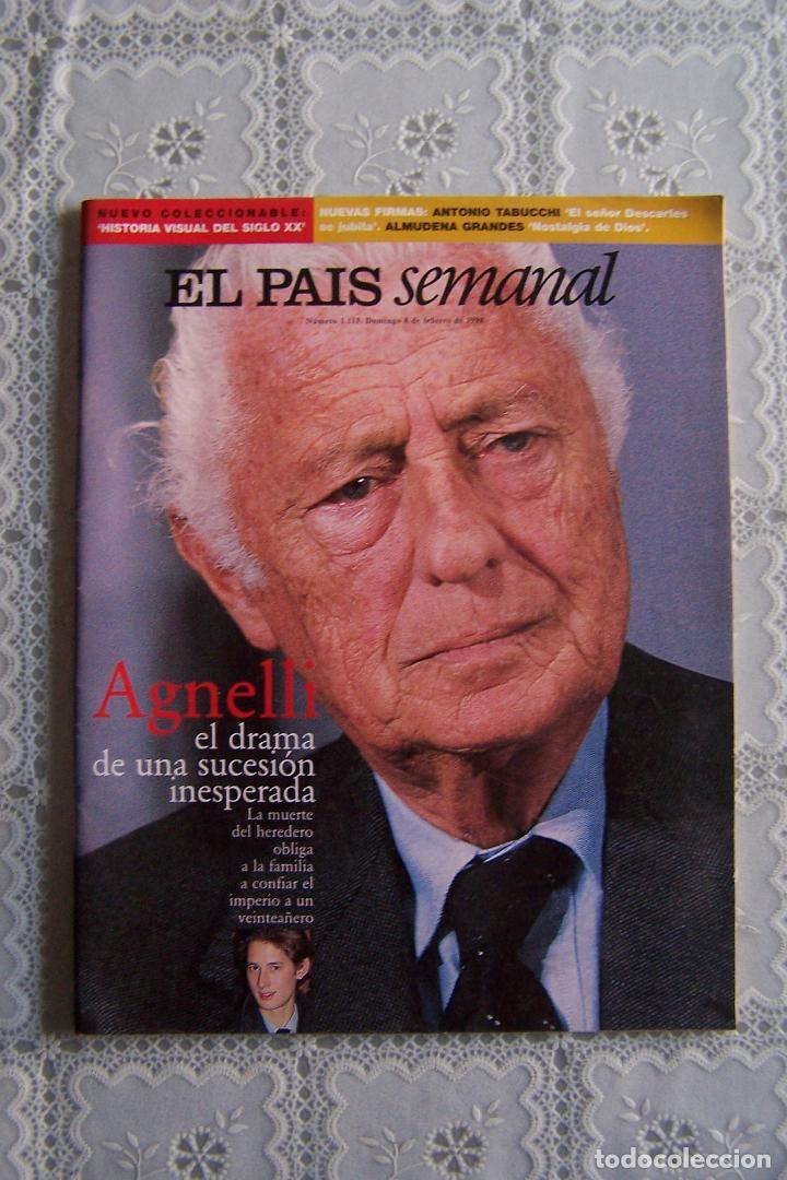 REVISTA EL PAÍS SEMANAL. Nº 1.115 - DOMINGO 8 FEBRERO 1998. (Coleccionismo - Revistas y Periódicos Modernos (a partir de 1.940) - Periódico El Páis)