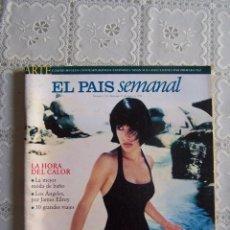 Coleccionismo de Periódico El País: REVISTA EL PAÍS SEMANAL. Nº 1.131 - DOMINGO 31 MAYO 1998.. Lote 87419540