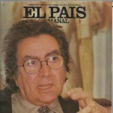 Coleccionismo de Periódico El País: EL PAÍS SEMANAL, 3 MARZO 1985, Nº 412. ANTONI TAPIES, VICTORIA ABRIL,VENCER A LA MUERTE.. Lote 88948096