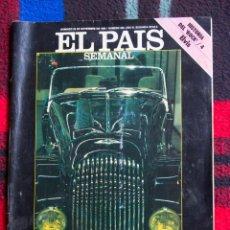 Coleccionismo de Periódico El País: REVISTA EL PAIS SEMANAL - Nº 502 - NOVIEMBRE 1986 - COCHES DE CAPRICHO. Lote 90884425