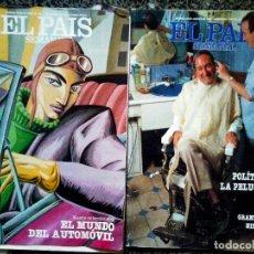 Coleccionismo de Periódico El País: LOTE DE DOS REVISTAS - EL PAIS , SEMANAL - AÑO 1988 Nº 594 Y N 602. Lote 93767620
