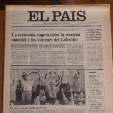 Coleccionismo de Periódico El País: EL PAÍS. RESUMEN DEL AÑO 1992. 26 Y 27 DE DICIEMBRE DE 1992. Lote 95428315