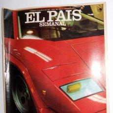 Coleccionismo de Periódico El País: EL PAIS SEMANAL SUPLEMENTO. Nº266 MAYO 1982. ESPECIAL MOTOR.PORSCHE MERCEDES BMW AUDI SUZUKI FERRARI. Lote 95773103