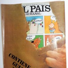 Coleccionismo de Periódico El País: EL PAIS SEMANAL SUPLEMENTO. Nº269 JUNIO 1982. GUIA MUNDIAL 82.FUTBOL ESPAÑA MUNDIAL. MARADONA PUBLI. Lote 95773271
