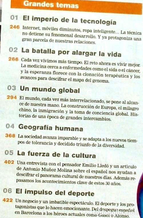 Coleccionismo de Periódico El País: EL PAÍS - UNA HISTORIA DE 30 AÑOS - 1976 /2006 - VER DESCRIPCIÓN E INDICE - Foto 3 - 97454611