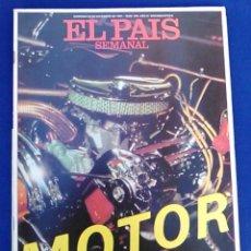 Coleccionismo de Periódico El País: REVISTA EL PAÍS SEMANAL. ESPECIAL MOTOR, Nº 245. 20 DE DICIEMBRE 1981. AÑO VI, SEGUNDA ÉPOCA.. Lote 98790087