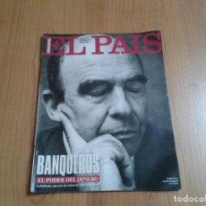 Coleccionismo de Periódico El País: EL PAIS SEMANAL Nº 169 - 15/05/94 - BANQUEROS, BARÇA, ALFREDO KRAUS, ENEMIGOS, DEPORTIVO CORUÑA. Lote 99240047