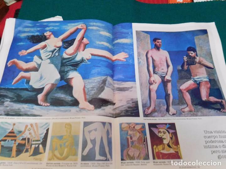 Coleccionismo de Periódico El País: Cuadernillo de la revista EL PAIS, de tiempos de las transición y reportaje de Picasso - Foto 4 - 99379815