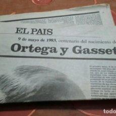 Coleccionismo de Periódico El País: SUPLEMENTO DEL PAÍS.. Lote 99473355