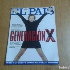 Coleccionismo de Periódico El País: EL PAIS SEMANAL Nº 167 - 01/05/94 - GENERACIÓN X, ARGELIA, MARLON BRANDO, JUAN PERRO, SEMILLAS. Lote 99862315