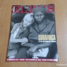 Coleccionismo de Periódico El País: EL PAIS SEMANAL Nº 165 - 17/04/94 - SUDÁFRICA, LOLE Y MANUEL, NICOLE KIDMAN, PETER GABRIEL, CASTILLA. Lote 99862679