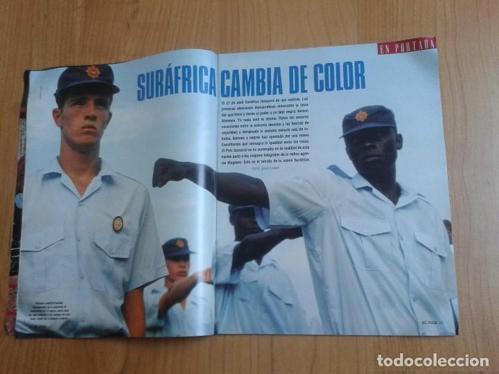 Coleccionismo de Periódico El País: EL PAIS SEMANAL nº 165 - 17/04/94 - Sudáfrica, Lole y Manuel, Nicole Kidman, Peter Gabriel, Castilla - Foto 3 - 99862679