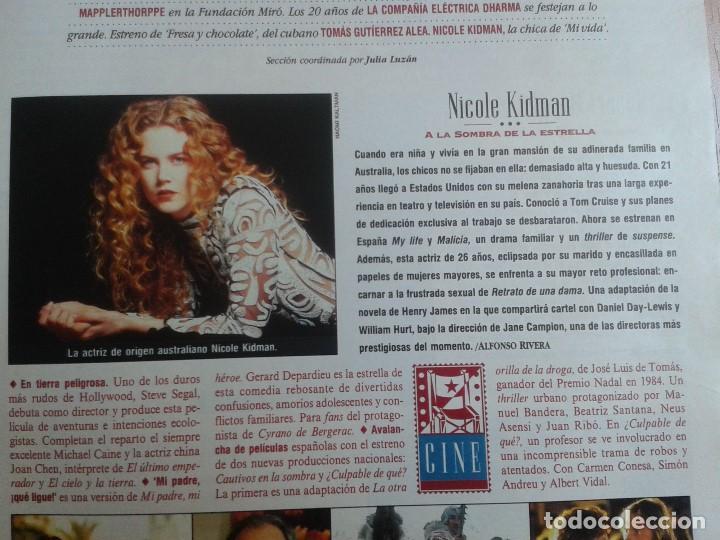 Coleccionismo de Periódico El País: EL PAIS SEMANAL nº 165 - 17/04/94 - Sudáfrica, Lole y Manuel, Nicole Kidman, Peter Gabriel, Castilla - Foto 5 - 99862679