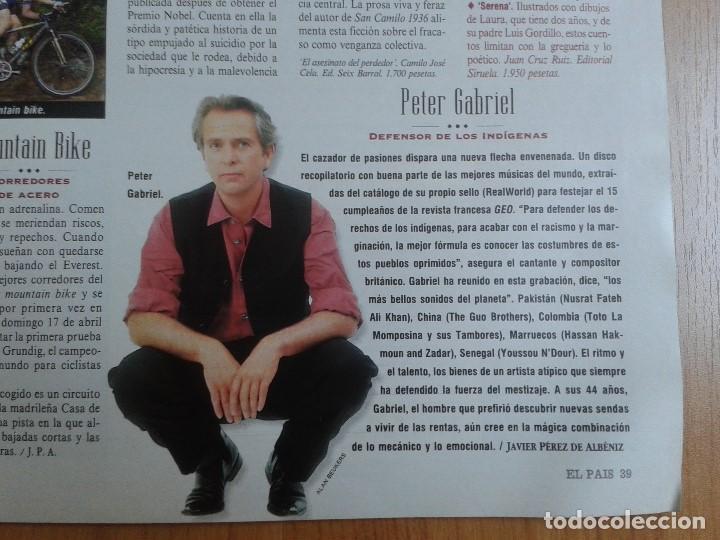 Coleccionismo de Periódico El País: EL PAIS SEMANAL nº 165 - 17/04/94 - Sudáfrica, Lole y Manuel, Nicole Kidman, Peter Gabriel, Castilla - Foto 6 - 99862679