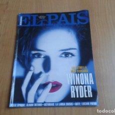 Coleccionismo de Periódico El País: EL PAIS SEMANAL Nº 164 - 10/04/94 - WINONA RYDER, BELLE ÉPOQUE, LUCIAN FREUD, ASTURIAS, TEPUYES. Lote 99862891