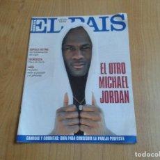 Coleccionismo de Periódico El País: EL PAIS SEMANAL Nº 159 - 06/03/94 - MICHAEL JORDAN, JAÉN, PACO DE LUCÍA, INDÍGENAS CANADÁ. Lote 99863767