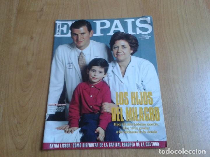 EL PAIS SEMANAL Nº 158 - 27/02/94 - VICTOR ULLATE, NICOLÁS REDONDO, GLORIA ESTEFAN, MICHAEL JACKSON (Coleccionismo - Revistas y Periódicos Modernos (a partir de 1.940) - Periódico El Páis)