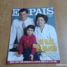 Coleccionismo de Periódico El País: EL PAIS SEMANAL Nº 158 - 27/02/94 - VICTOR ULLATE, NICOLÁS REDONDO, GLORIA ESTEFAN, MICHAEL JACKSON. Lote 99863923