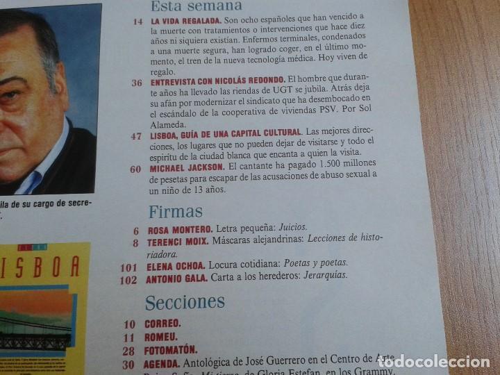 Coleccionismo de Periódico El País: EL PAIS SEMANAL nº 158 - 27/02/94 - Victor Ullate, Nicolás Redondo, Gloria Estefan, Michael Jackson - Foto 2 - 99863923
