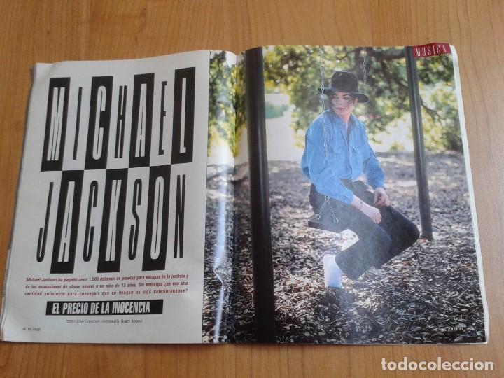 Coleccionismo de Periódico El País: EL PAIS SEMANAL nº 158 - 27/02/94 - Victor Ullate, Nicolás Redondo, Gloria Estefan, Michael Jackson - Foto 10 - 99863923