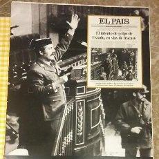 Coleccionismo de Periódico El País: LAS PORTADAS DE EL PAIS... PASTAS. COLECCIONABLE EL PAIS. Lote 100007755