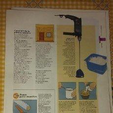 Coleccionismo de Periódico El País: BRICOLAGE. COLECCIONABLE EL PAIS. FASCICULO PAGINAS 109-120. Lote 100008351