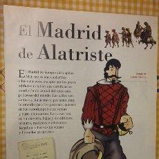 Coleccionismo de Periódico El País: EL CAPITAN ALATRISTE COLECCIONABLE EL PAIS AGUILAR. FASCICULO EL MADRID DE ALATRISTE. Lote 100008491
