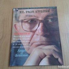 Coleccionismo de Periódico El País: EL PAIS SEMANAL Nº 1135 - 28/06/98 - ANDREOTTI, NAVAJITA PLATEÁ, CAETANO VELOSO, SUEÑOS, ZAR. Lote 101575915