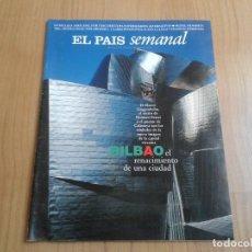 Coleccionismo de Periódico El País: EL PAIS SEMANAL Nº 1079 - 01/06/97 - GUGGENHEIM, BILBAO, FERNANDO COLOMO, FRANK GEHRY, MAGIA NEGRA. Lote 101576591