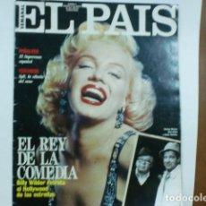 Coleccionismo de Periódico El País: REV. Nº 27 ELPAIS PORTADA MARYLYN MONRO GRAN RPTAJE.,NICANOR ZAABALETA . Lote 103845107