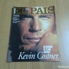 Coleccionismo de Periódico El País: EL PAIS SEMANAL Nº 235 - 20/08/95 - KEVIN COSTNER, SUDÁN MIGRACIONES SEBASTIAO SALGADO, MEG RYAN. Lote 103990375