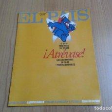 Coleccionismo de Periódico El País: EL PAIS SEMANAL Nº 232 - 30/07/95 - VIETNAN MIGRACIONES SEBASTIAO SALGADO, RITA MARLEY, ELANIO AZUL. Lote 103990923
