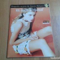 Coleccionismo de Periódico El País: EL PAIS SEMANAL Nº 1068 - 16/03/97 - GARCÍA MÁRQUEZ, JOHN LEE HOOKER, OKUPAS, GALLIANO, JORDI MOLLÁ. Lote 103994211