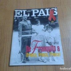 Coleccionismo de Periódico El País: EL PAIS SEMANAL Nº 93 - 29/11/92 - FRANCO, SIDA, COQUE MALLA, MICHAEL JORDAN, FERNANDO TRUEBA, HOJAS. Lote 104067135