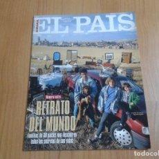 Coleccionismo de Periódico El País: EL PAIS SEMANAL Nº 186 - 11/09/94 - Nº EXTRA - RETRATO DEL MUNDO - FAMILIAS DE 30 PAISES. Lote 118129316