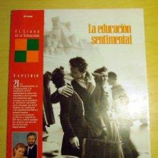 Coleccionismo de Periódico El País: EL LIBRO DE LA SEXUALIDAD, FASCÍCULO 21. Lote 107118919
