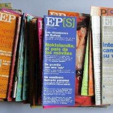 Coleccionismo de Periódico El País: EL PAÍS SEMANAL AÑO 2000 LOTE DE 40 REVISTAS, ENTRE LA Nº 1214 Y LA Nº 1266 VER FOTOGRAFIAS. Lote 109005187