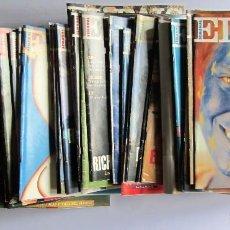 Coleccionismo de Periódico El País: EL PAÍS SEMANAL AÑO 1993 LOTE DE 45 REVISTAS, ENTRE LA Nº 98 Y LA Nº 149 VER FOTOGRAFÍAS. Lote 109006799